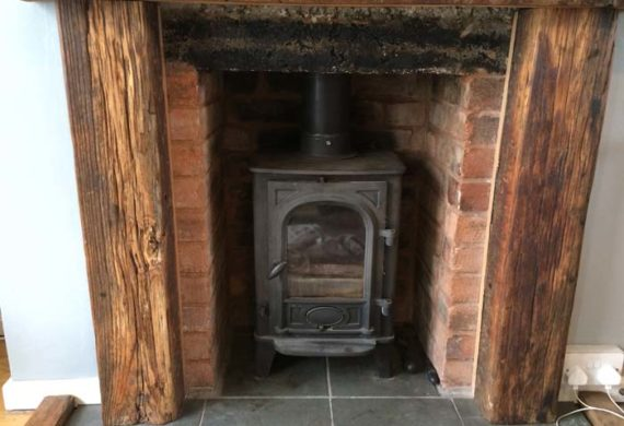 new wood burning stove