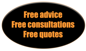 free advice, quotes and consultation sticker